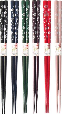 塗箸 銀桜