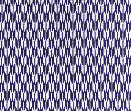 豆てぬぐい 矢羽 紫